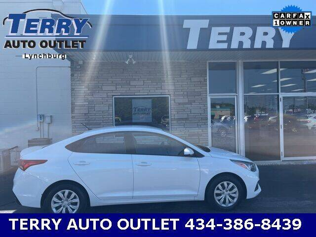 2020 Hyundai Accent for sale at Terry Auto Outlet in Lynchburg VA