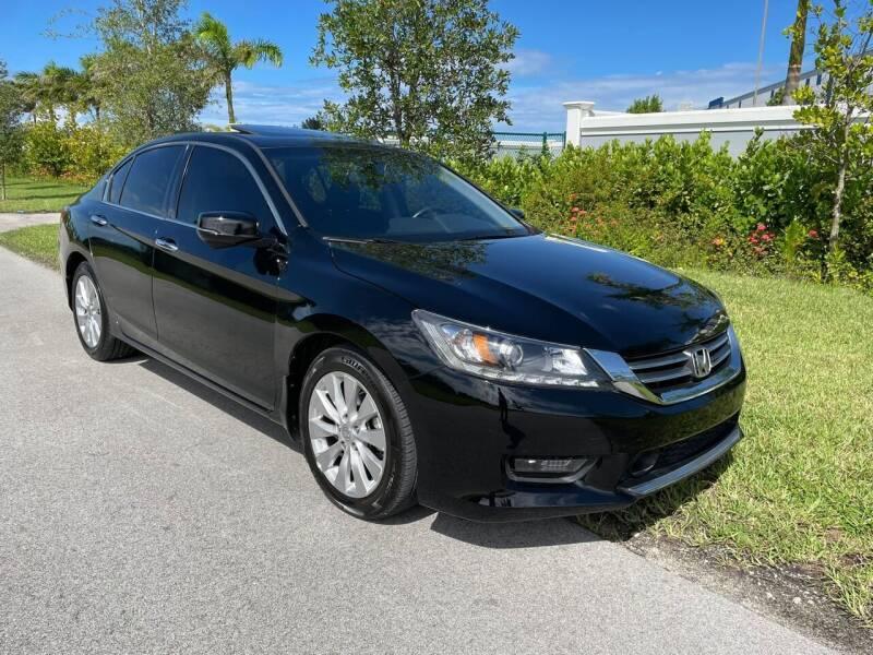 2014 Honda Accord for sale at D & P OF MIAMI CORP in Miami FL