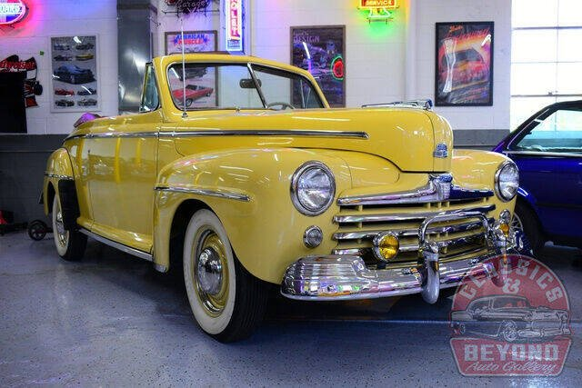1947 Ford Super Deluxe for sale at Classics and Beyond Auto Gallery in Wayne MI