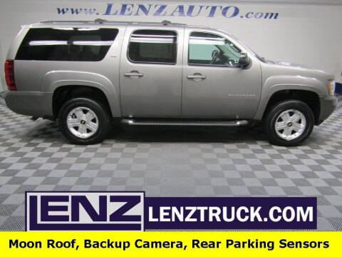 2012 Chevrolet Suburban for sale at LENZ TRUCK CENTER in Fond Du Lac WI