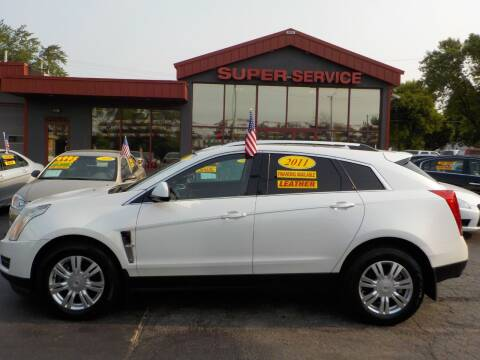 2011 Cadillac SRX for sale at Super Service Used Cars in Milwaukee WI