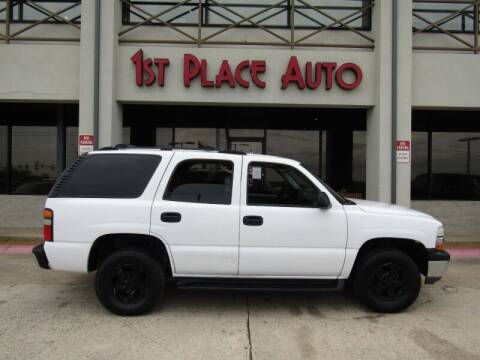 2004 Chevrolet Tahoe for sale at First Place Auto Ctr Inc in Watauga TX