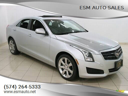 2014 Cadillac ATS for sale at ESM Auto Sales in Elkhart IN