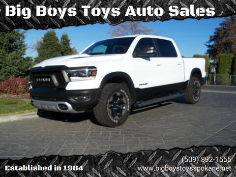 2019 RAM Ram Pickup 1500 for sale at Big Boys Toys Auto Sales in Spokane Valley WA
