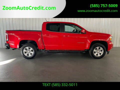 2016 GMC Canyon for sale at ZoomAutoCredit.com in Elba NY