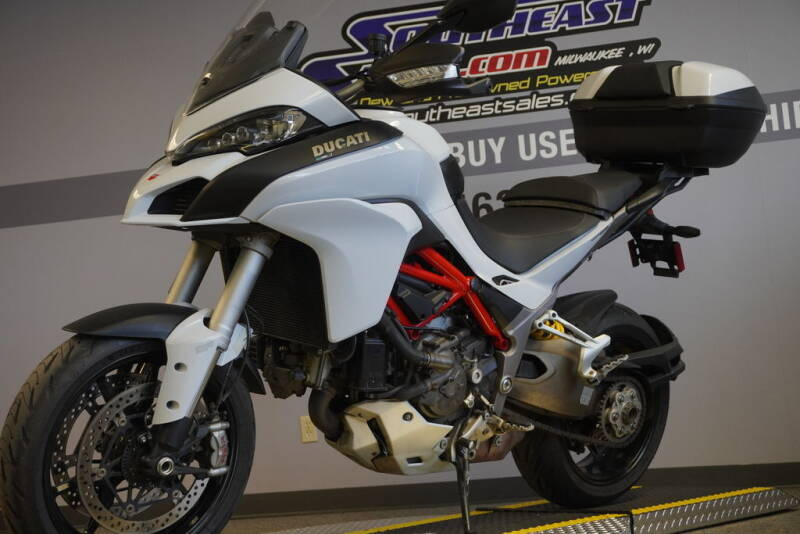 2016 Ducati Multistrada 1200 S Iceberg Whi for sale at Southeast Sales Powersports in Milwaukee WI