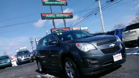 2013 Chevrolet Equinox for sale at Boardman Auto Mall in Boardman OH