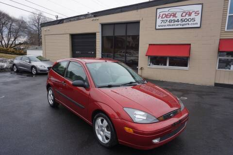 2003 Ford Focus for sale at I-Deal Cars LLC in York PA