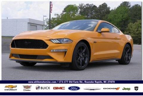 2019 Ford Mustang for sale at WHITE MOTORS INC in Roanoke Rapids NC