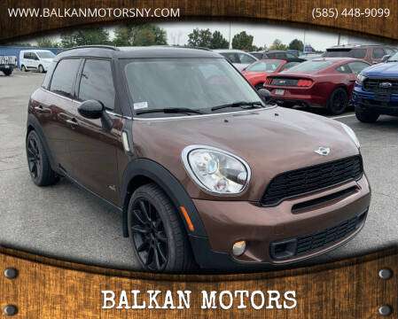 2013 MINI Countryman for sale at BALKAN MOTORS in East Rochester NY