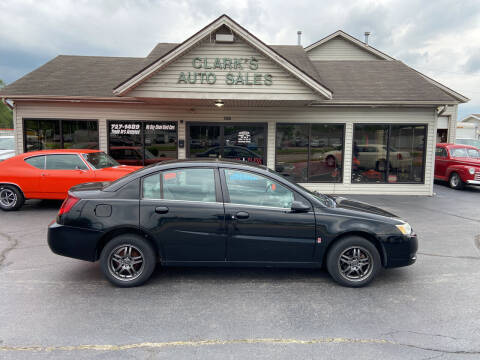 2005 Saturn Ion for sale at Clarks Auto Sales in Middletown OH