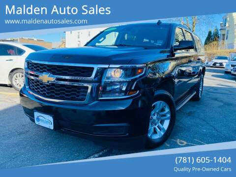 2018 Chevrolet Suburban for sale at Malden Auto Sales in Malden MA