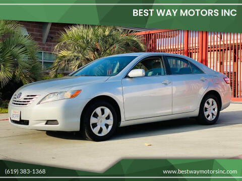 2007 Toyota Camry for sale at BEST WAY MOTORS INC in San Diego CA