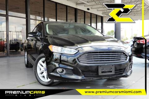 2016 Ford Fusion for sale at Premium Cars of Miami in Miami FL