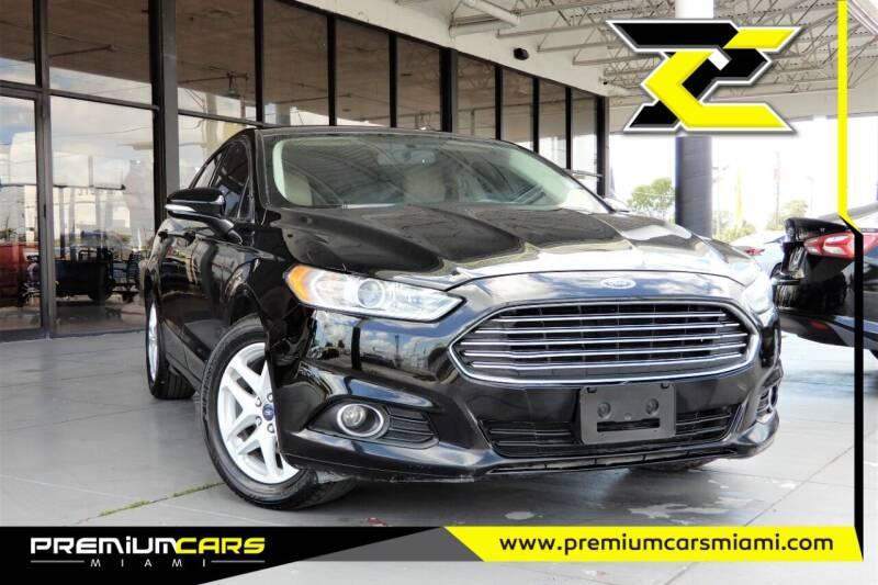 2016 Ford Fusion for sale at Premium Cars of Miami in Miami FL