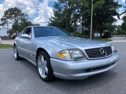 2001 Mercedes-Benz SL-Class for sale at Global Auto Exchange in Longwood FL