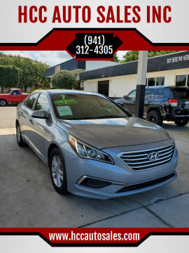 2017 Hyundai Sonata for sale at HCC AUTO SALES INC in Sarasota FL
