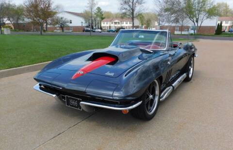 1966 Chevrolet Corvette for sale at WEST PORT AUTO CENTER INC in Fenton MO