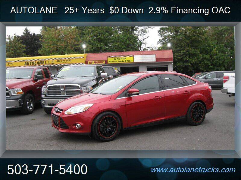 2012 Ford Focus for sale at Auto Lane in Portland OR
