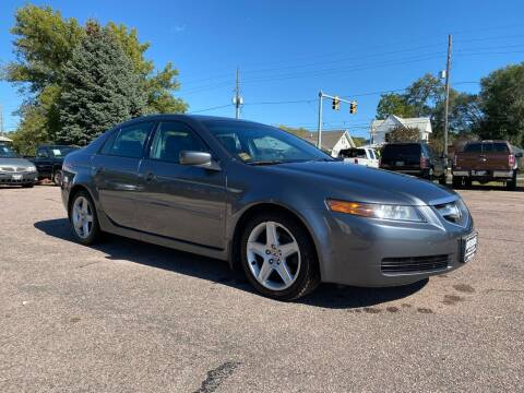 2005 Acura TL for sale at RIVERSIDE AUTO SALES in Sioux City IA