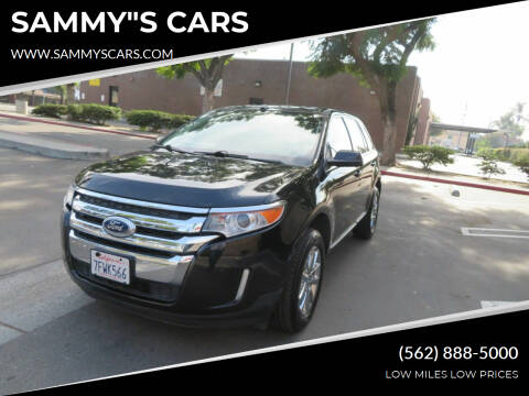 "2014 Ford Edge for sale at SAMMY""S CARS in Bellflower CA"