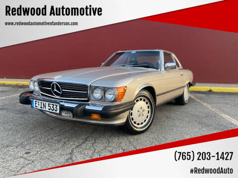 1987 Mercedes-Benz 560-Class for sale at Redwood Automotive in Anderson IN