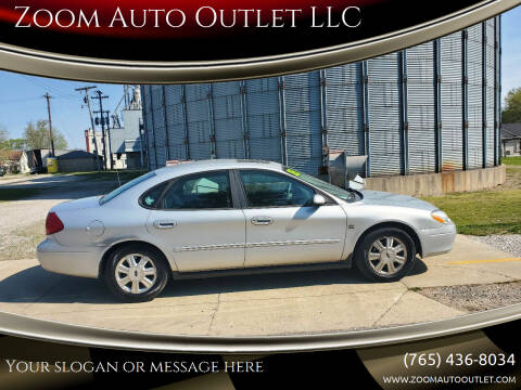 2003 Ford Taurus for sale at Zoom Auto Outlet LLC in Thorntown IN