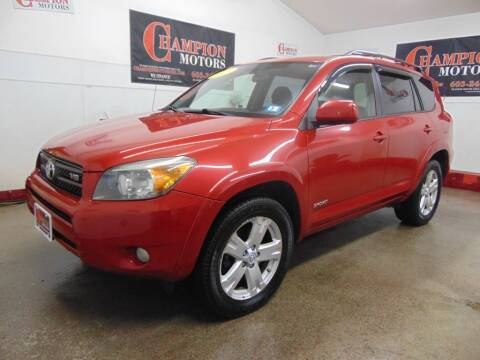 2007 Toyota RAV4 for sale at Champion Motors in Amherst NH