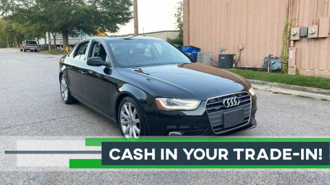 2013 Audi A4 for sale at Horizon Auto Sales in Raleigh NC