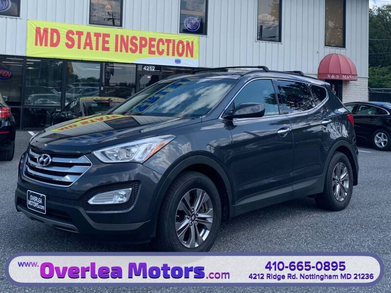 2016 Hyundai Santa Fe Sport for sale at Overlea Motors in Baltimore MD