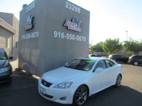 2008 Lexus IS 250 for sale at LIONS AUTO SALES in Sacramento CA