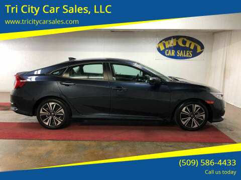2017 Honda Civic for sale at Tri City Car Sales, LLC in Kennewick WA