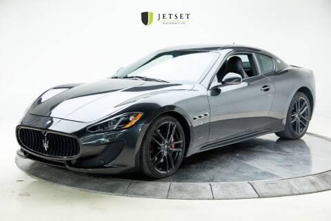 2017 Maserati GranTurismo for sale at Jetset Automotive in Cedar Rapids IA