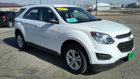 2017 Chevrolet Equinox for sale at Unzen Motors in Milbank SD