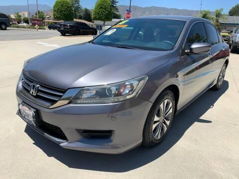 2013 Honda Accord for sale at Select Auto Wholesales in Glendora CA