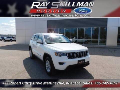 2018 Jeep Grand Cherokee for sale at Ray Skillman Hoosier Ford in Martinsville IN