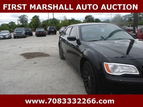 2014 Chrysler 300 for sale at First Marshall Auto Auction in Harvey IL