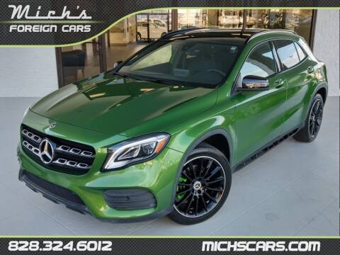 2018 Mercedes-Benz GLA for sale at Mich's Foreign Cars in Hickory NC