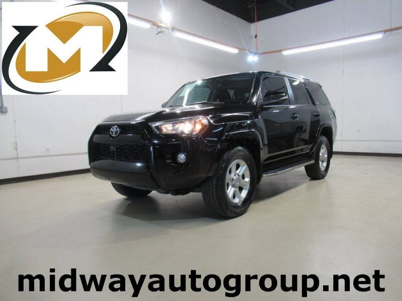 2016 Toyota 4Runner for sale at Midway Auto Group in Addison TX