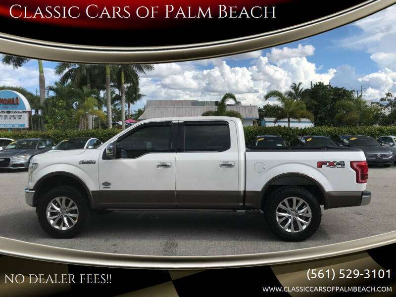 2015 Ford F-150 for sale at Classic Cars of Palm Beach in Jupiter FL