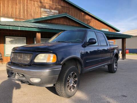 2003 Ford F-150 for sale at Coeur Auto Sales in Hayden ID