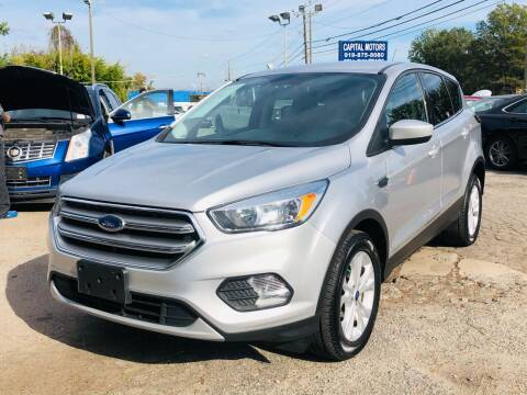 2017 Ford Escape for sale at Capital Motors in Raleigh NC