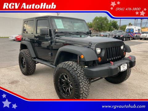 2013 Jeep Wrangler for sale at RGV AutoHub in Harlingen TX