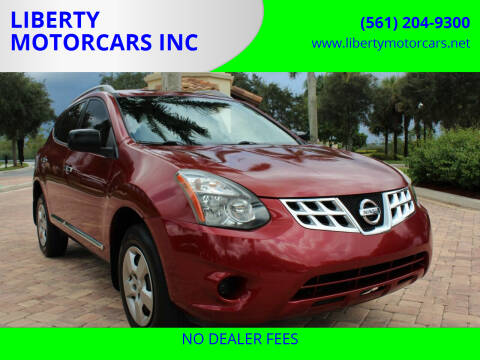 2014 Nissan Rogue Select for sale at LIBERTY MOTORCARS INC in Royal Palm Beach FL