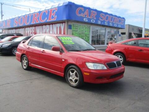 2003 Mitsubishi Lancer for sale at CAR SOURCE OKC in Oklahoma City OK