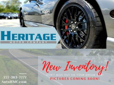 2013 Ford Fusion for sale at Heritage Motor Company in Virginia Beach VA