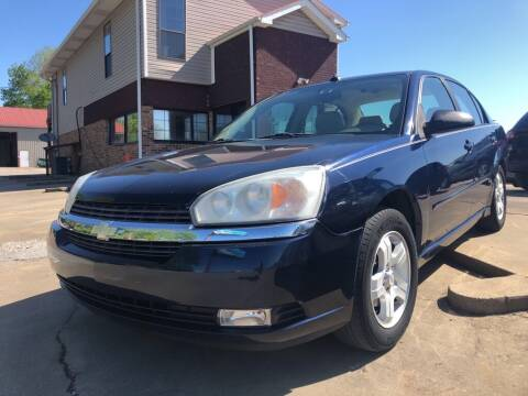 2004 Chevrolet Malibu for sale at Wolff Auto Sales in Clarksville TN
