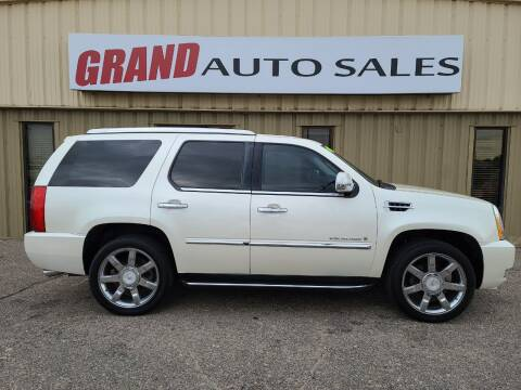 2009 Cadillac Escalade for sale at GRAND AUTO SALES in Grand Island NE