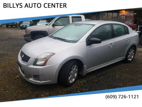 2011 Nissan Sentra for sale at BILLYS AUTO CENTER in Vincentown NJ