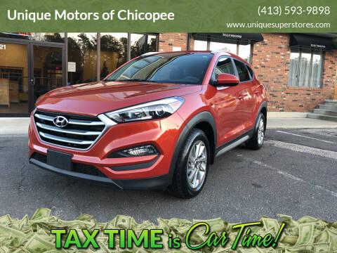 2017 Hyundai Tucson for sale at Unique Motors of Chicopee in Chicopee MA